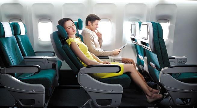 Nâng mũi ngồi máy bay có sợ bị bung?