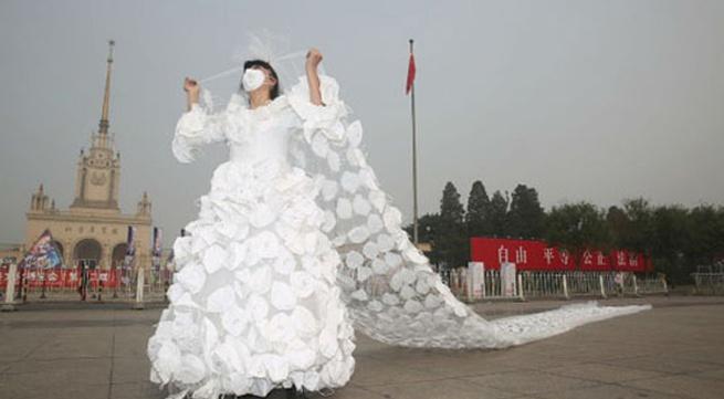 Những chiếc váy cưới đẹp lạ nhất hành tinh