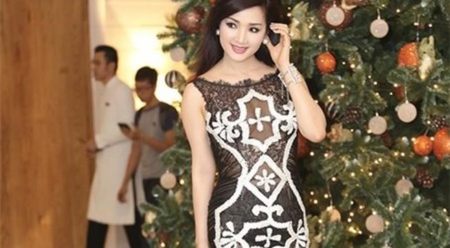 Giáng My tiếp tục 'khoe thân' trong trang phục 'nhức mắt'