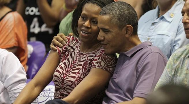 Những khoảnh khắc đời thường bên gia đình của Tổng thống Obama