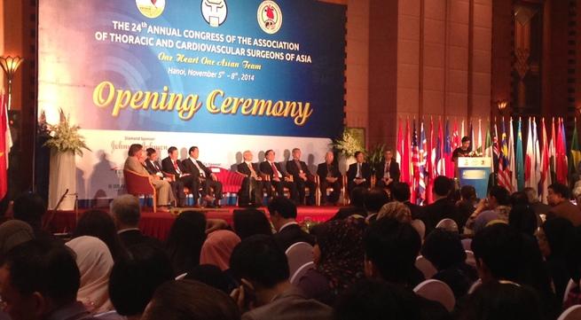 Hội nghị các phẫu thuật viên lồng ngực và tim mạch châu Á