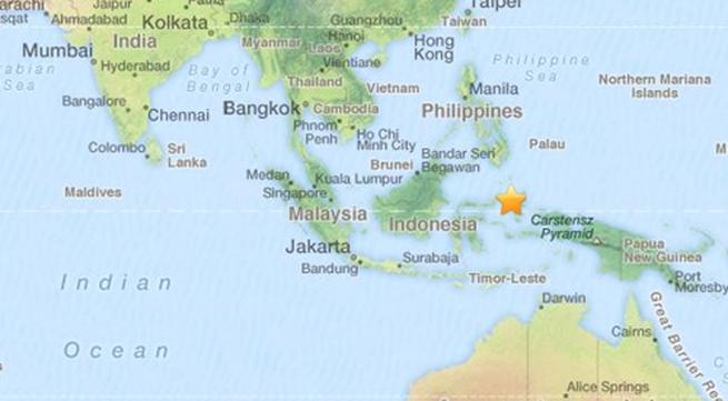 Động đất 7,3 độ ở Indonesia, cảnh báo sóng thần