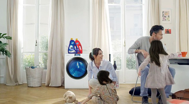 Giặt giũ hiệu quả để cuộc sống trọn niềm vui