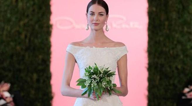 Ngân Khánh đặt váy cưới của Oscar de la Renta