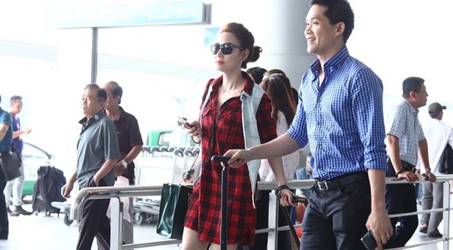 Vợ chồng Ngân Khánh đi nước ngoài trước ngày cưới
