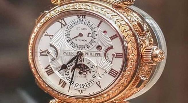 Cận cảnh những mẫu đồng hồ hàng triệu USD