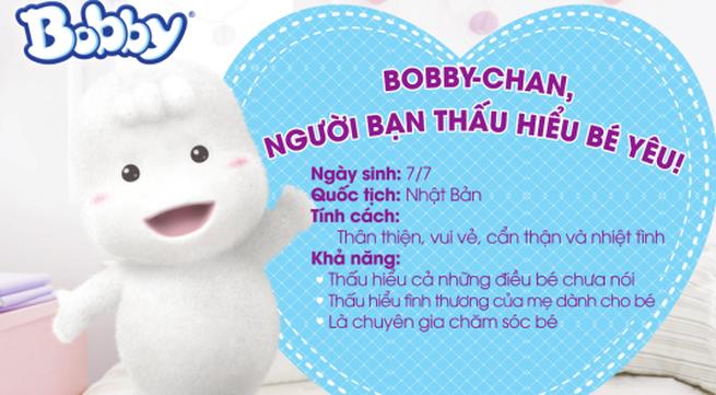 Bobby – chan, người bạn thân đầu đời của bé