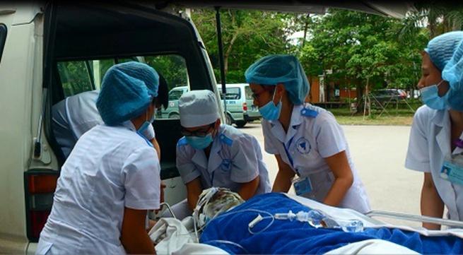 6 bệnh nhân bỏng nặng nằm viện không có người nhà chăm sóc