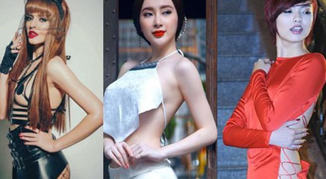 """5 người đẹp Việt nghiện trang phục """"mặc như không"""""""