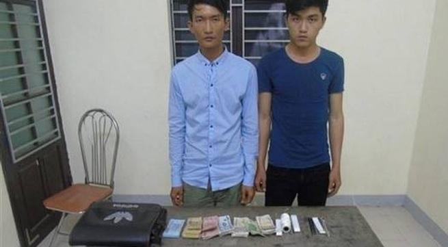 Bắt hai đối tượng đột nhập chùa trộm tiền công đức
