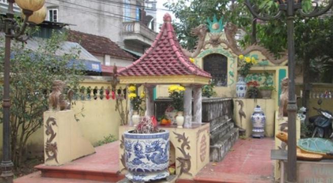 Bí mật trong ngôi mộ vợ chúa Trịnh Sâm