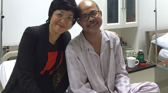 MC Thảo Vân nói về tình trạng sức khỏe của NSƯT Hán Văn Tình