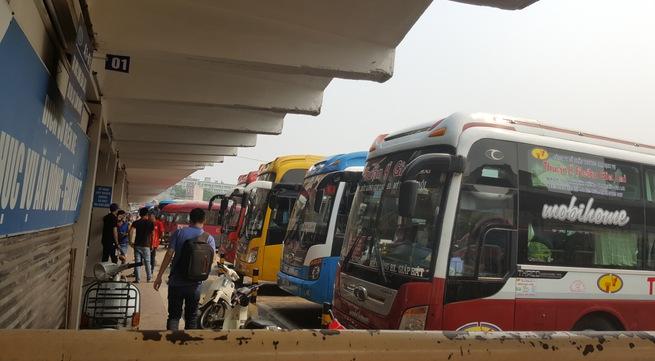 Hà Nội: Nhiều bất cập trong việc điều chuyển các tuyến xe khách