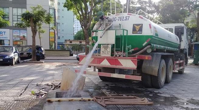 Vì sao Linh Đàm thiếu nước sạch?