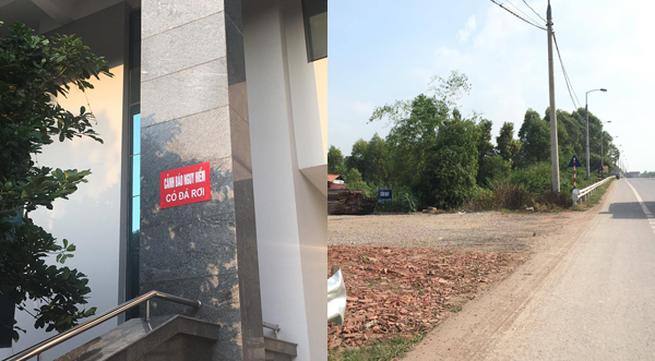 """Những """"chuyện lạ"""" chỉ có ở Bắc Giang: Phá hàng rào quốc lộ, công trình hàng trăm tỉ đá rơi"""