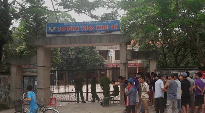Thuận Thành – Bắc Ninh: Nghi vấn bảo vệ trường THCS Ninh Xá bị sát hại dã man