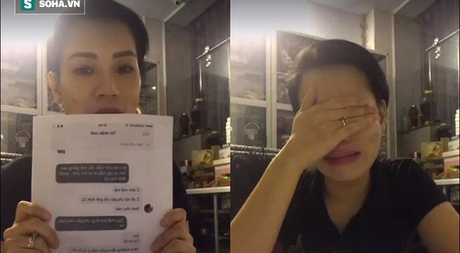 Vợ Xuân Bắc suy sụp, gầy sọp và khóc nghẹn khi livestream