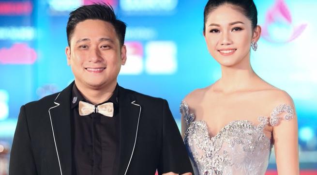 """Á hậu Thanh Tú và diễn viên Minh Tiệp - """"cặp én"""" ấn tượng tại LHP Việt Nam 2017"""