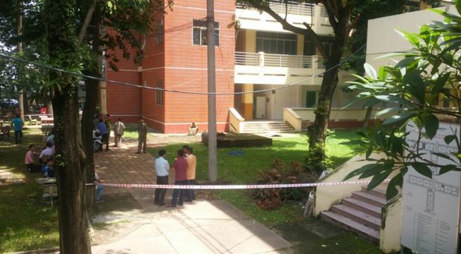 Sinh viên chết trong khuôn viên ĐH Sư phạm Kỹ thuật TP.HCM