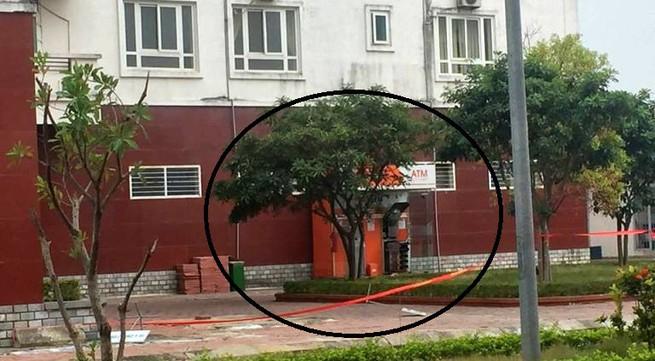 Quảng Ninh: Nghi vấn cây ATM ở chung cư bị cài chất nổ