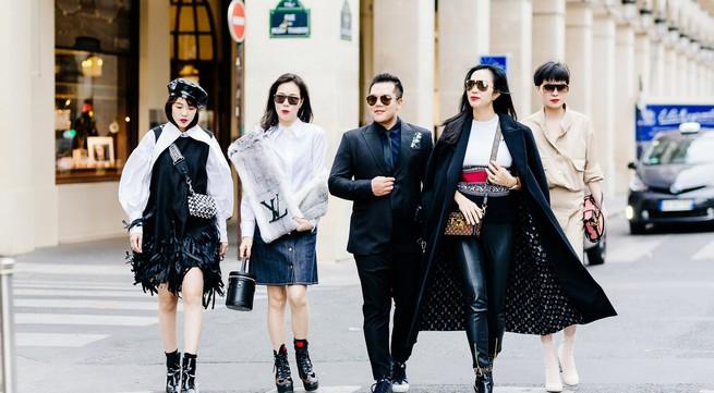 Doanh nhân Lưu Nga lộng lẫy tại Pháp tham dự tuần lễ thời trang