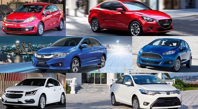 Ô tô nhỏ hơn 500 triệu: Hàng nhiều, xe hot gây 'bão' cuối năm