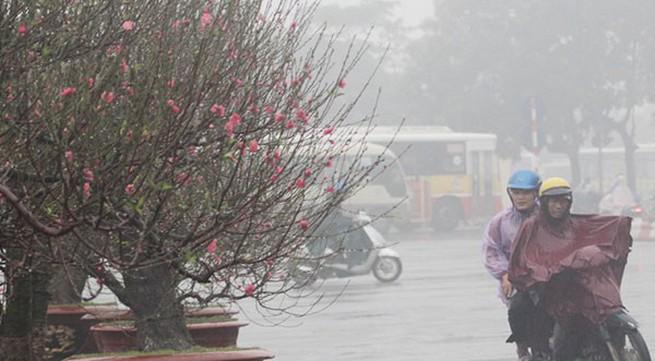 Miền Bắc mưa, trời rét đậm, thấp nhất dưới 5 độ C