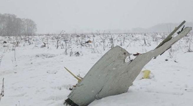 Máy bay Nga rơi 6.700 m/phút từ lúc mất tín hiệu liên lạc