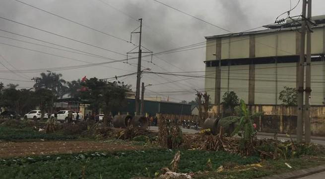 Hà Nội: Nổ lớn nhà máy luyện thép sáng 27 Tết, 2 công nhân nhập viện nguy kịch