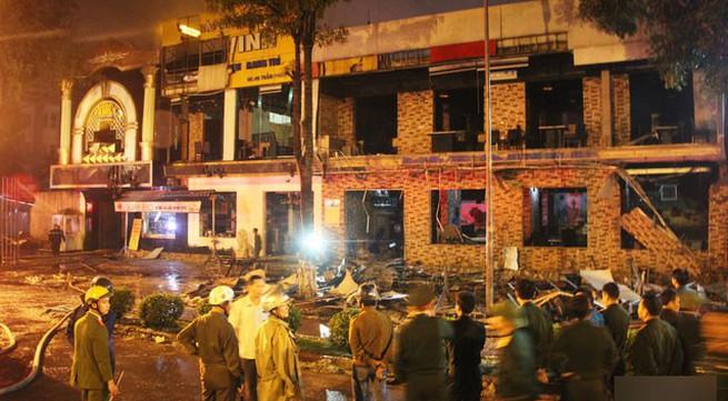 Nhân viên quên khóa bình gas, quán nướng nổ thiệt hại 10 tỉ