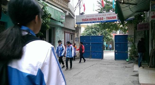 Trường THPT Trần Hưng Đạo (Hà Nội): Nếu có sai phạm sẽ chuyển Ủy ban kiểm tra Quận ủy