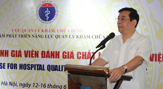 Chuyên nghiệp hóa đánh giá viên chất lượng bệnh viện