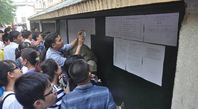Hà Nội: Nhiều trường chuyên công bố điểm chuẩn vào 10