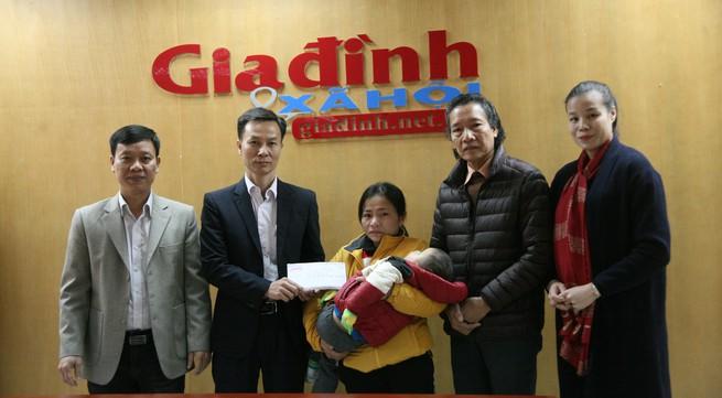 Hơn 28 triệu đồng đến với bé bị dị tật bẩm sinh hai mắt