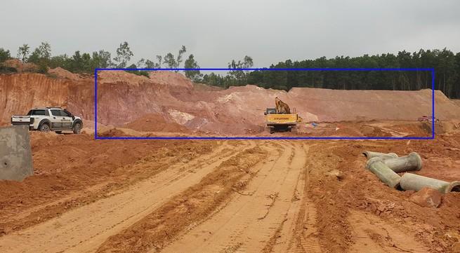 Thanh Sơn - Phú Thọ: Lợi dụng thi công dự án để khai thác khoáng sản trái phép