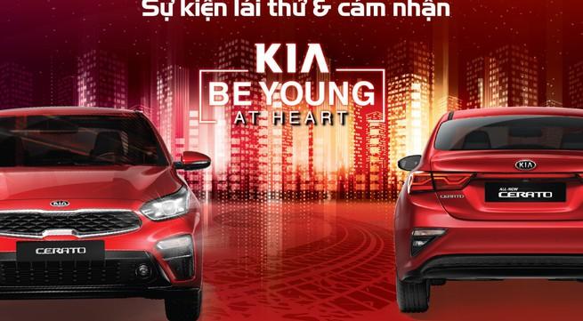 Cơ hội trải nghiệm công nghệ hiện đại của xe KIA dành cho hàng triệu khách hàng