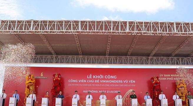 Vingroup khởi công dự án công viên VinWonders tại Hải Phòng