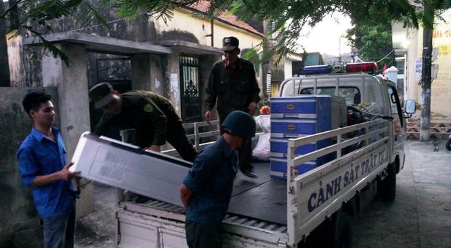 Lại xuất hiện sạt lún tại Cẩm Phả, di dời khẩn cấp 17 hộ dân