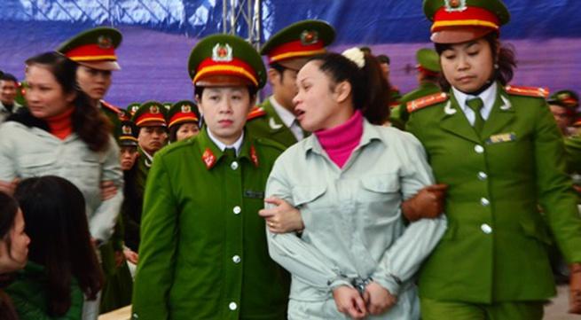 """Quảng Ninh: Tuyên án tử hình 30 bị cáo vụ án ma túy """"khủng"""""""