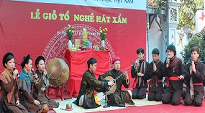 Lễ giỗ tổ nghề hát Xẩm