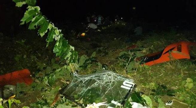 Xe giường nằm Sao Việt chở 41 người về từ Sapa lao xuống vực sâu 200m