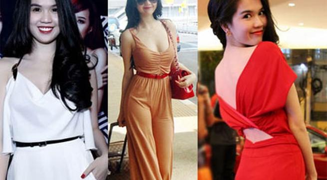 Sao Việt gợi cảm với jumpsuit sành điệu