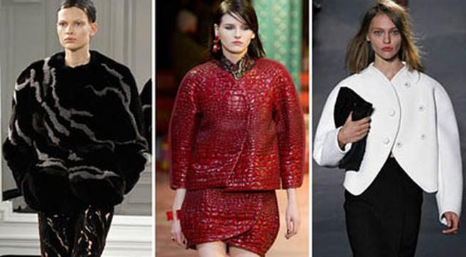 9 kiểu áo khoác lên ngôi mùa đông 2013