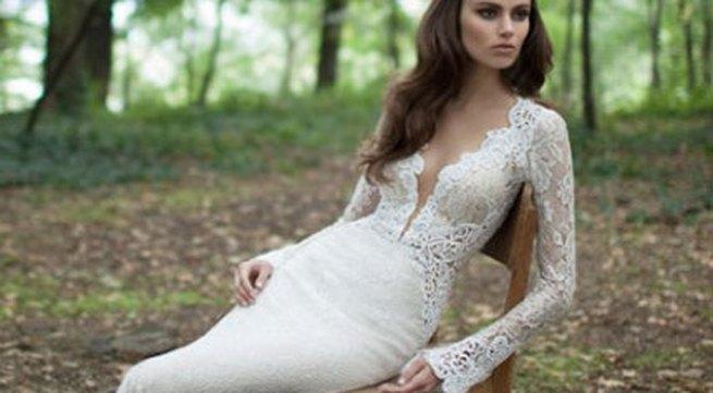 Những mẫu váy cưới dài tay đẹp đến khó tin
