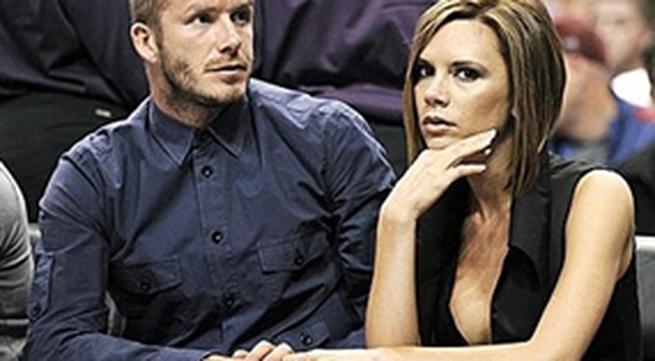 Quên đón con, Beckham tẩn vợ no đòn