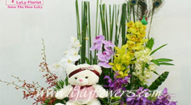 """Những mẫu hoa """"độc"""" ngày 20-10"""