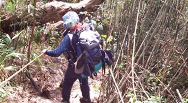 Một du khách mất tích khi leo núi Phan Si Păng