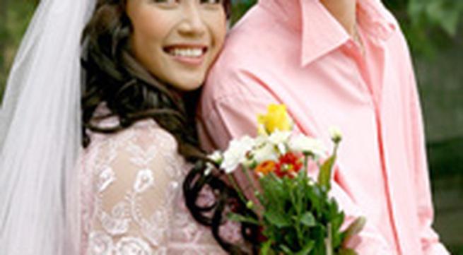 """Ảnh cưới của """"ốc"""" Thanh Vân"""