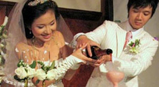 """Ảnh đám cưới Thanh Vân """"Hugo"""""""
