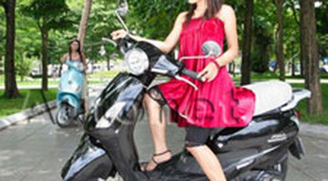 Atilla Elizabeth - Xe tay ga mang phong cách thiết kế của Piaggio